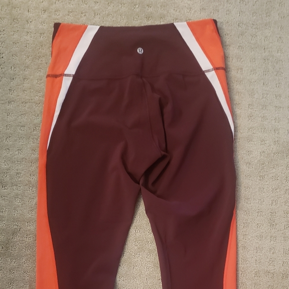 Tri Color Lululemon Leggings